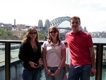 Stella, Ka und Tobi, Harbour Bridge in Sydney